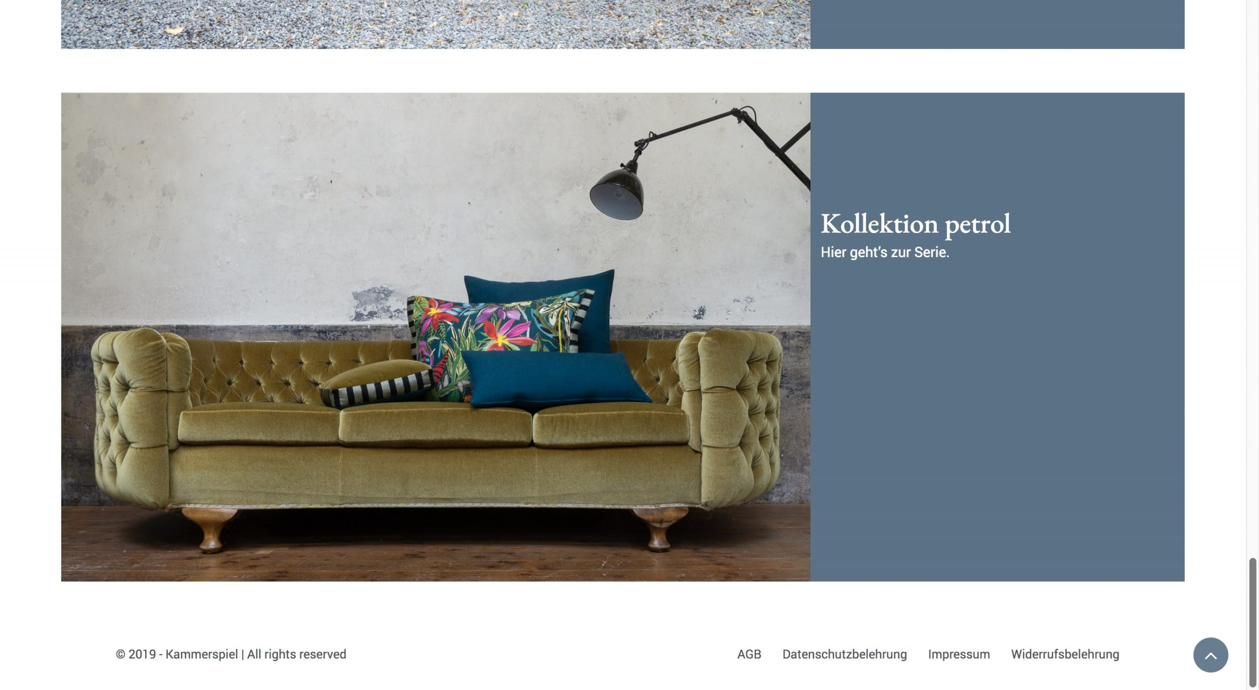 onlineshop for textil home accessories